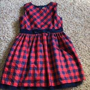 Red and Blue Xmas Dress! Size 5T